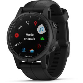 Garmin Fenix 5S Plus Sapphire GPS Smartwatch black